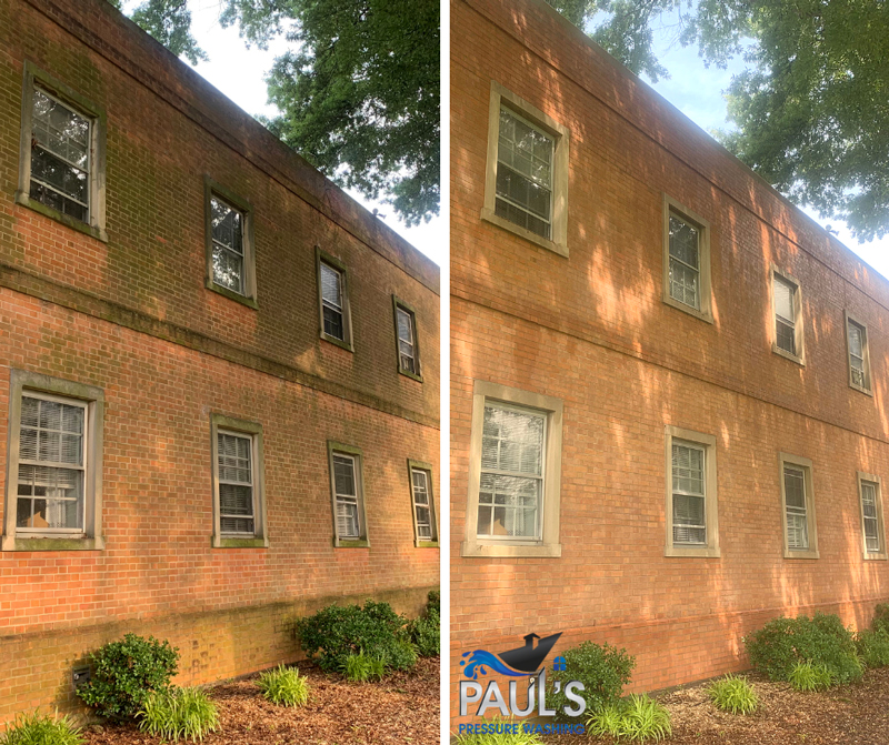 Services | Paul's Pressure Washing